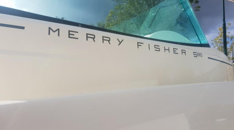 Jeanneau Merry Fisher 585 Demo met Honda BF75 (aanbieding!)